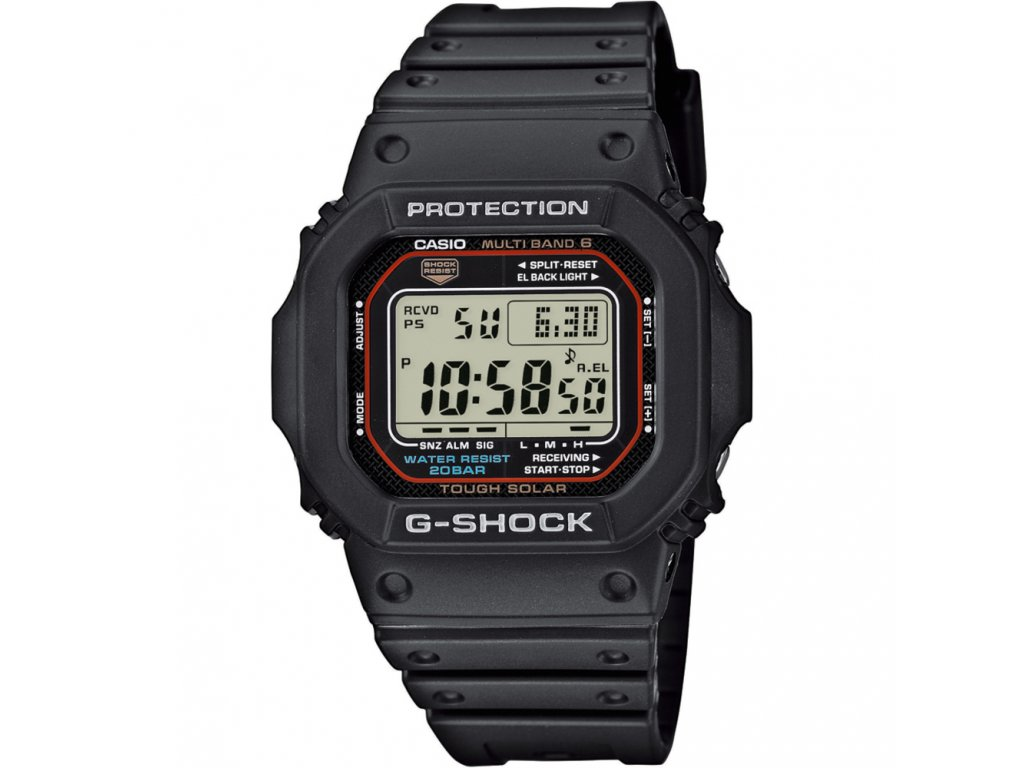 Casio GW M5610-1 - pánské digitální hodinky  + PowerBanka nebo pouzdro zdarma