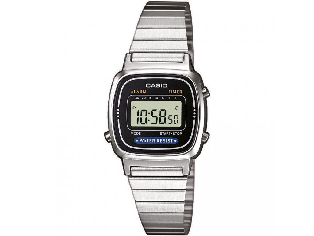 240be644c Casio LA 670WEA-1 - dámské digitální hodinky - Brašničky.cz