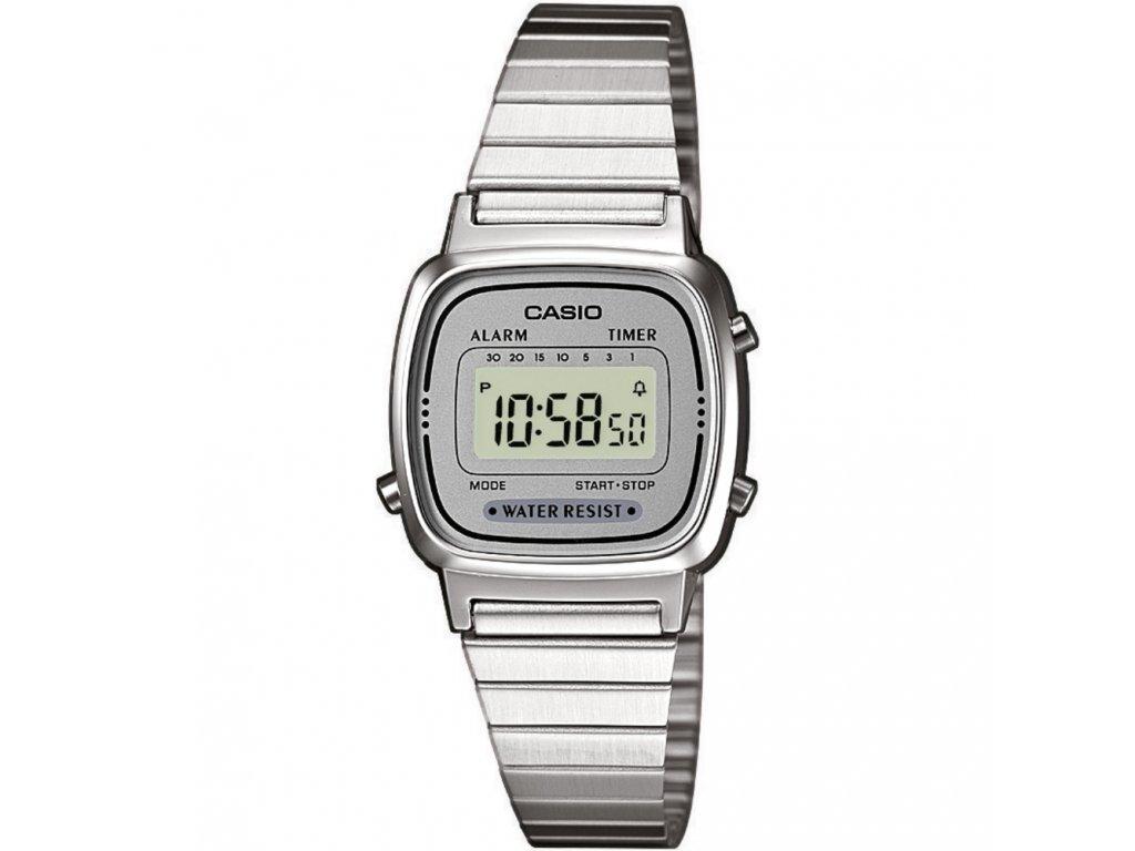 dd14524f6 Casio LA 670WEA-7 - dámské digitální hodinky - Brašničky.cz