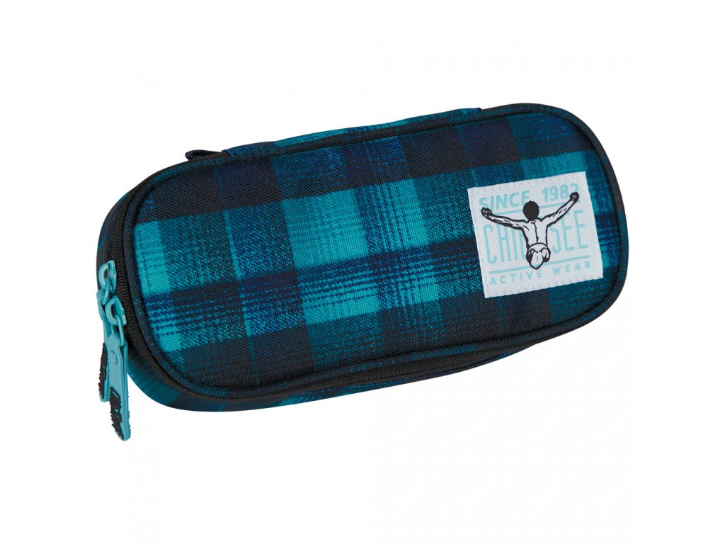 Chiemsee Pencase Checky chan blue