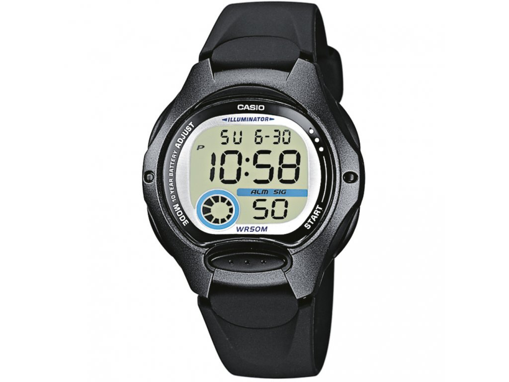Casio LW 200-1B - Dámské digitální hodinky