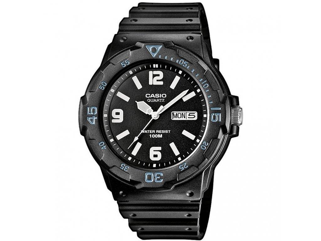 Casio MRW 200H-1B2 - unisex analogové hodinky