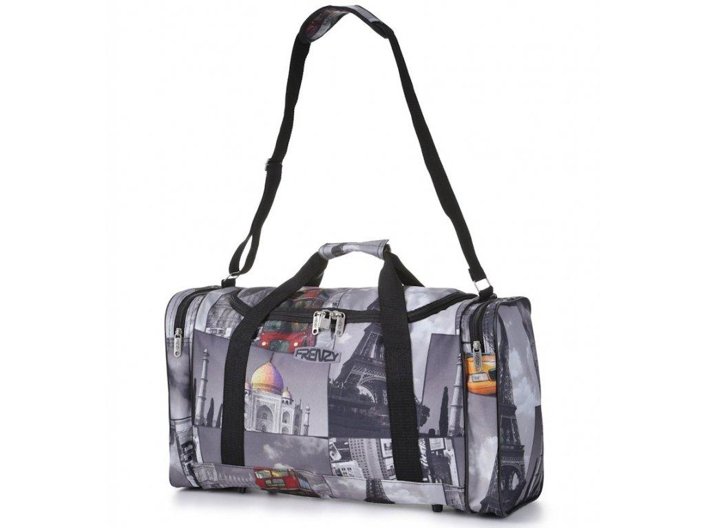 Cestovní taška FRENZY 825 - šedá