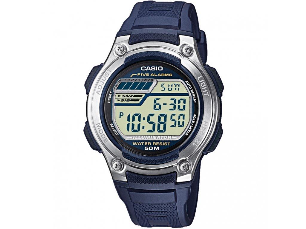 Casio W 212H-2A - Pánské digitální hodinky