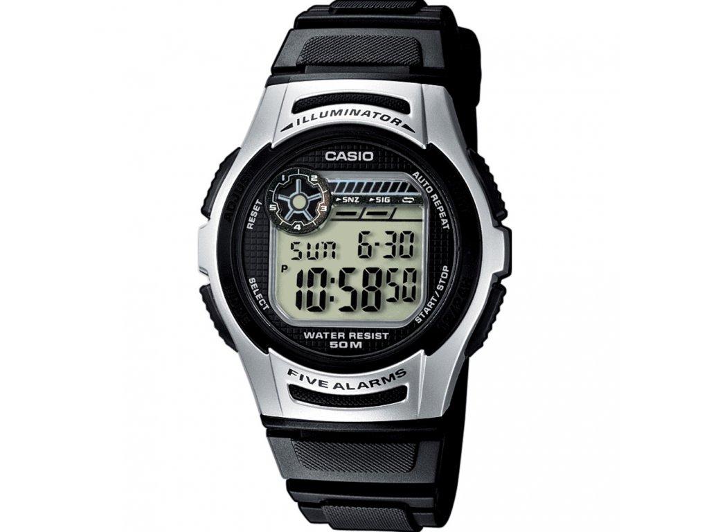 Casio W 213-1A - Pánské digitální hodinky