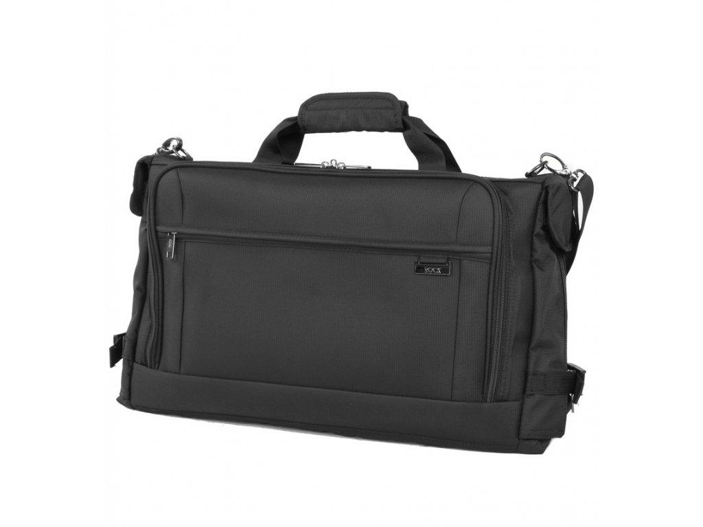 Cestovní taška na obleky ROCK GS-0011 - černá  + Pouzdro zdarma