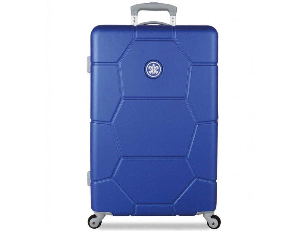 Cestovní kufr SUITSUIT® TR-1225/3-M ABS Caretta Dazzling Blue  + Pouzdro zdarma
