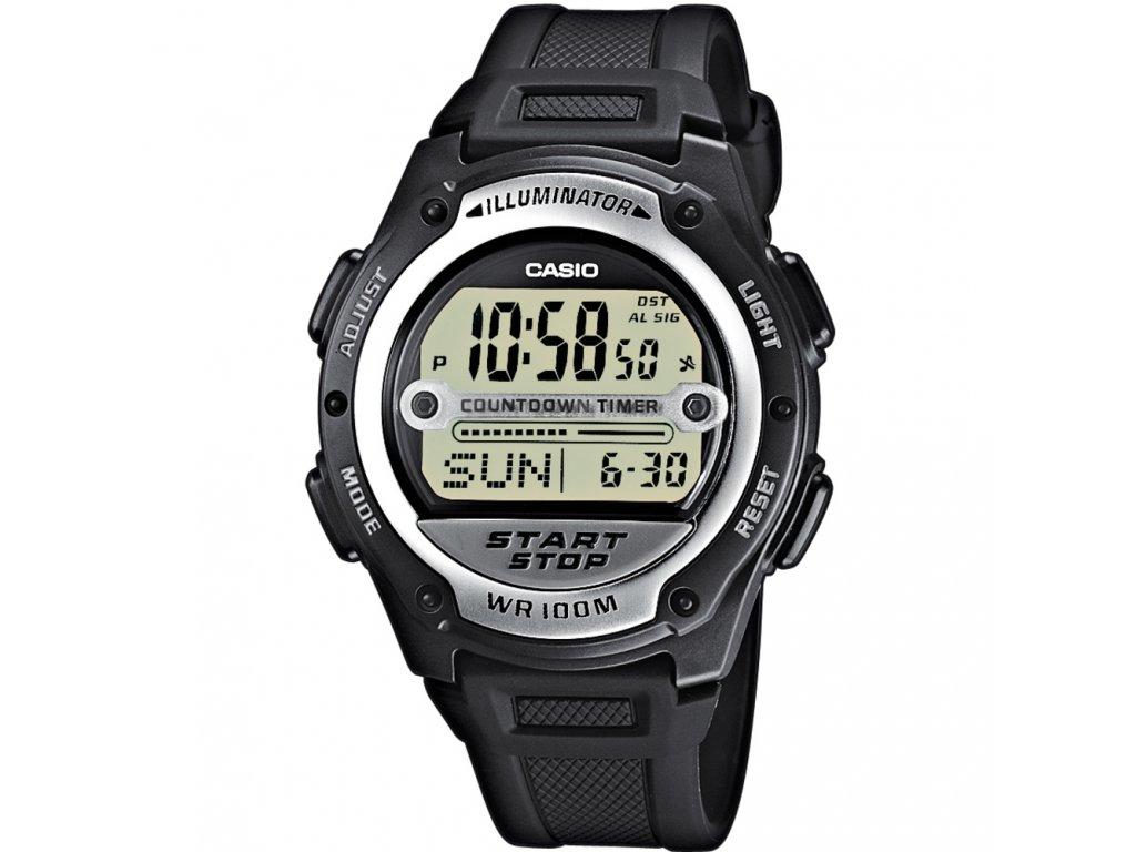 Casio W 756-1A - Pánské digitální hodinky