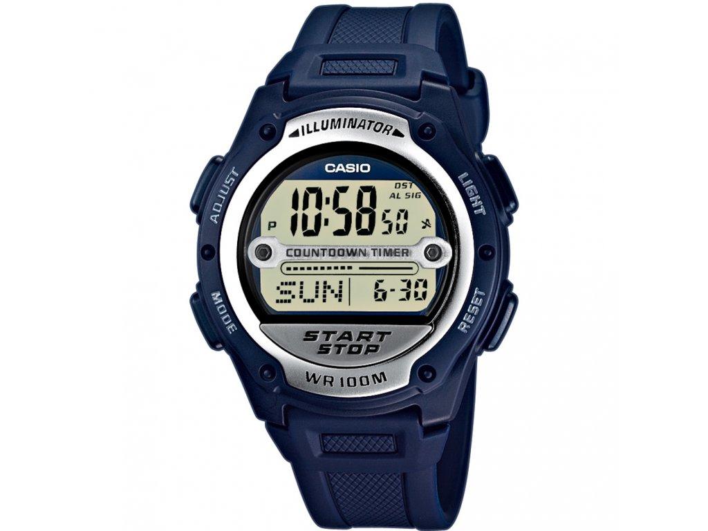 Casio W 756-2A - Pánské digitální hodinky
