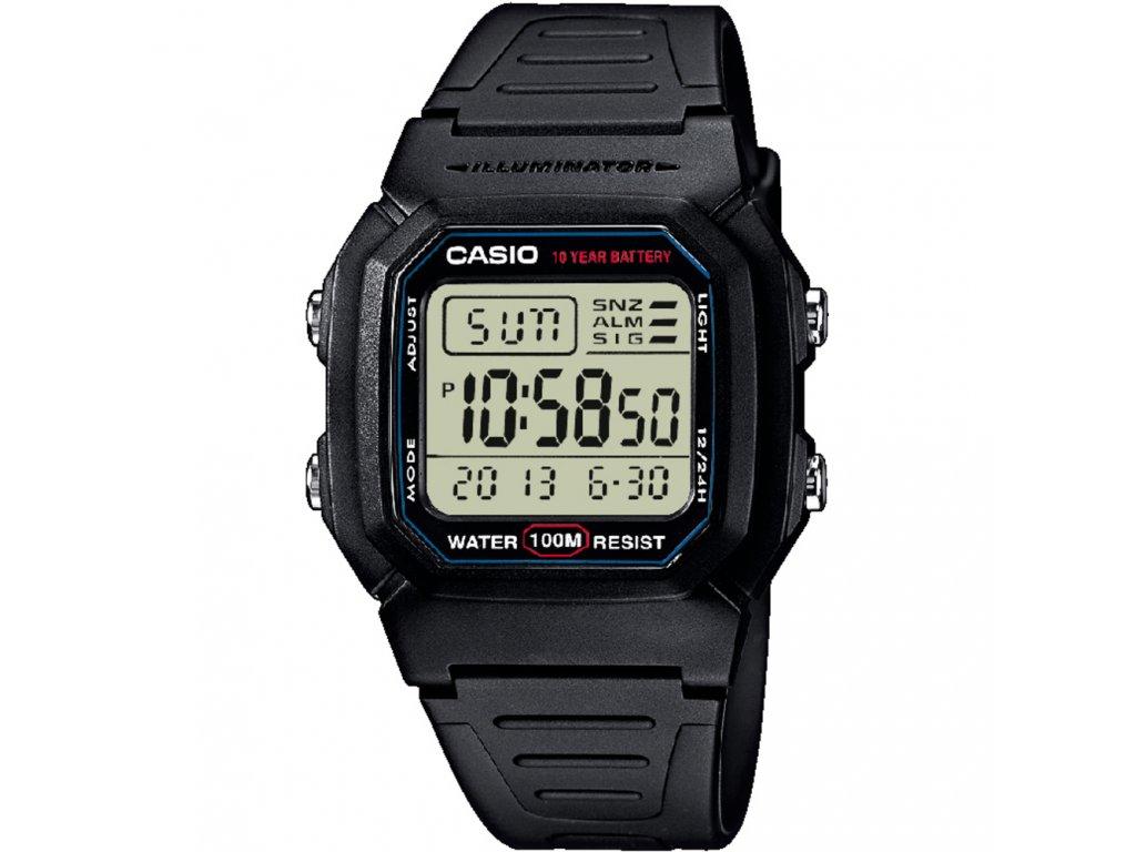 Casio W 800-1 - Pánské digitální hodinky