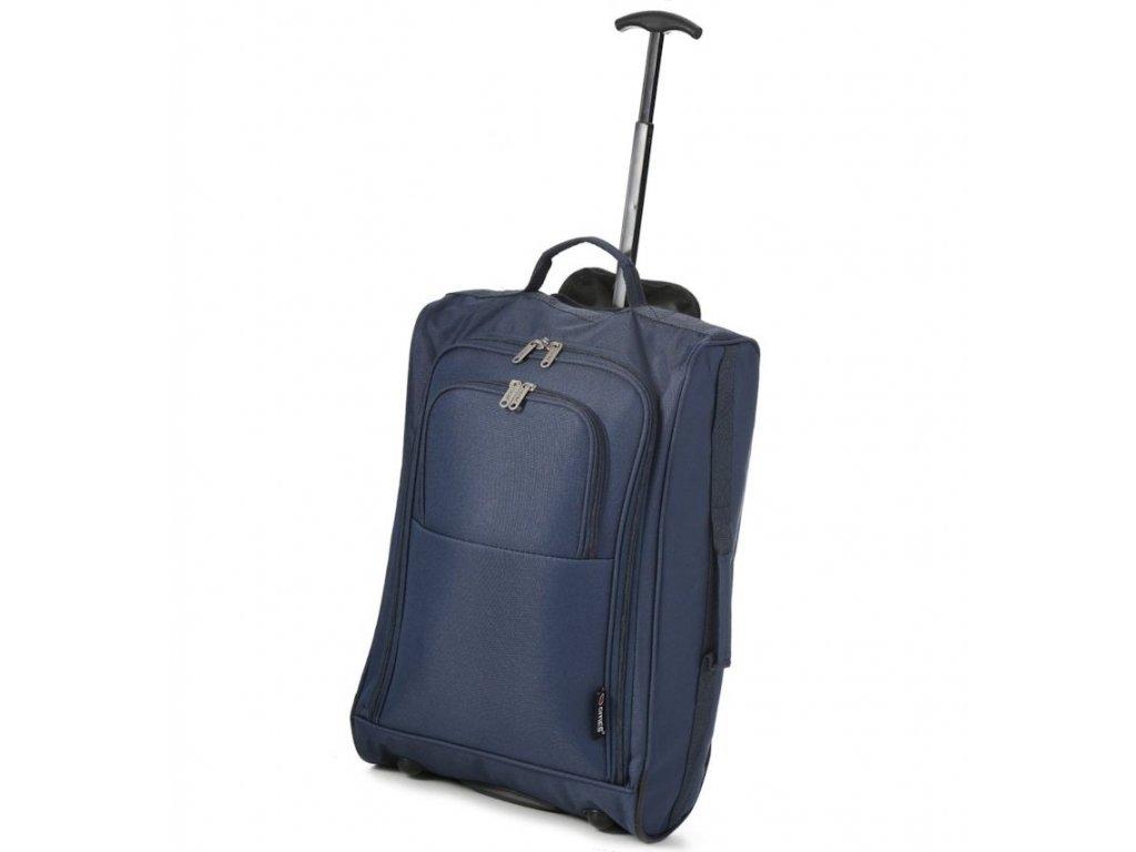 Kabinové zavazadlo CITIES T-830/1-55 - tmavě modrá