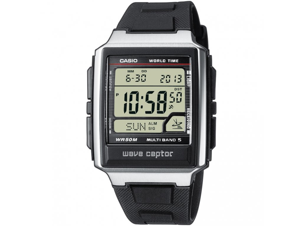 Casio WV 59E-1A - Pánské digitální hodinky  + Pouzdro zdarma