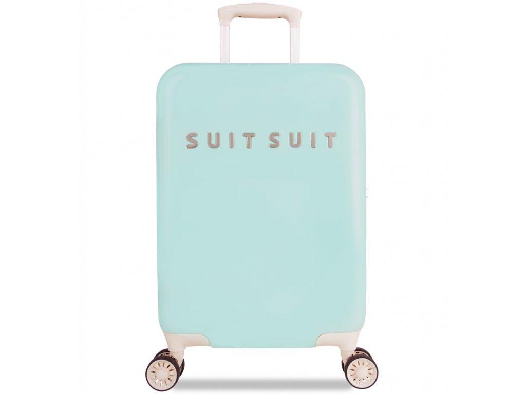 Kabinové zavazadlo SUITSUIT® TR-1222/3-S - Fabulous Fifties Luminous Mint  + Pouzdro zdarma