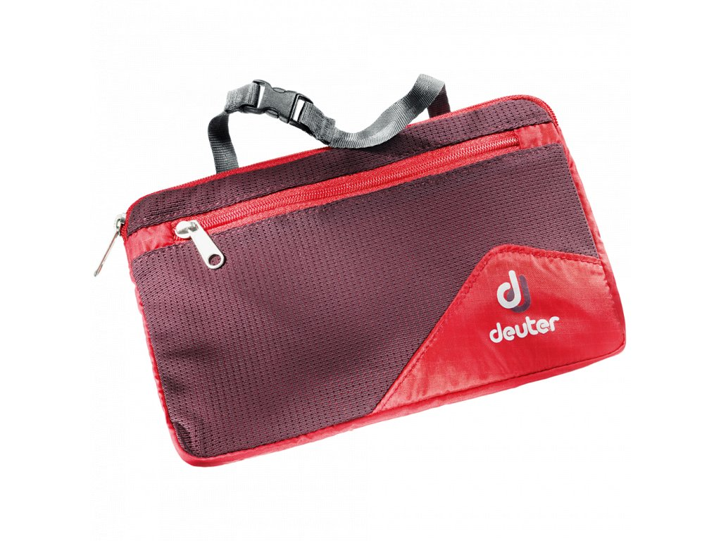 Deuter Wash Bag Lite II fire-aubergine