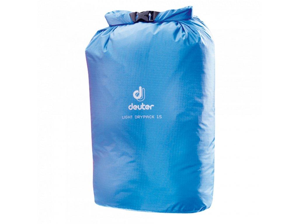 Deuter Light Drypack 15 coolblue - vodotěsný vak