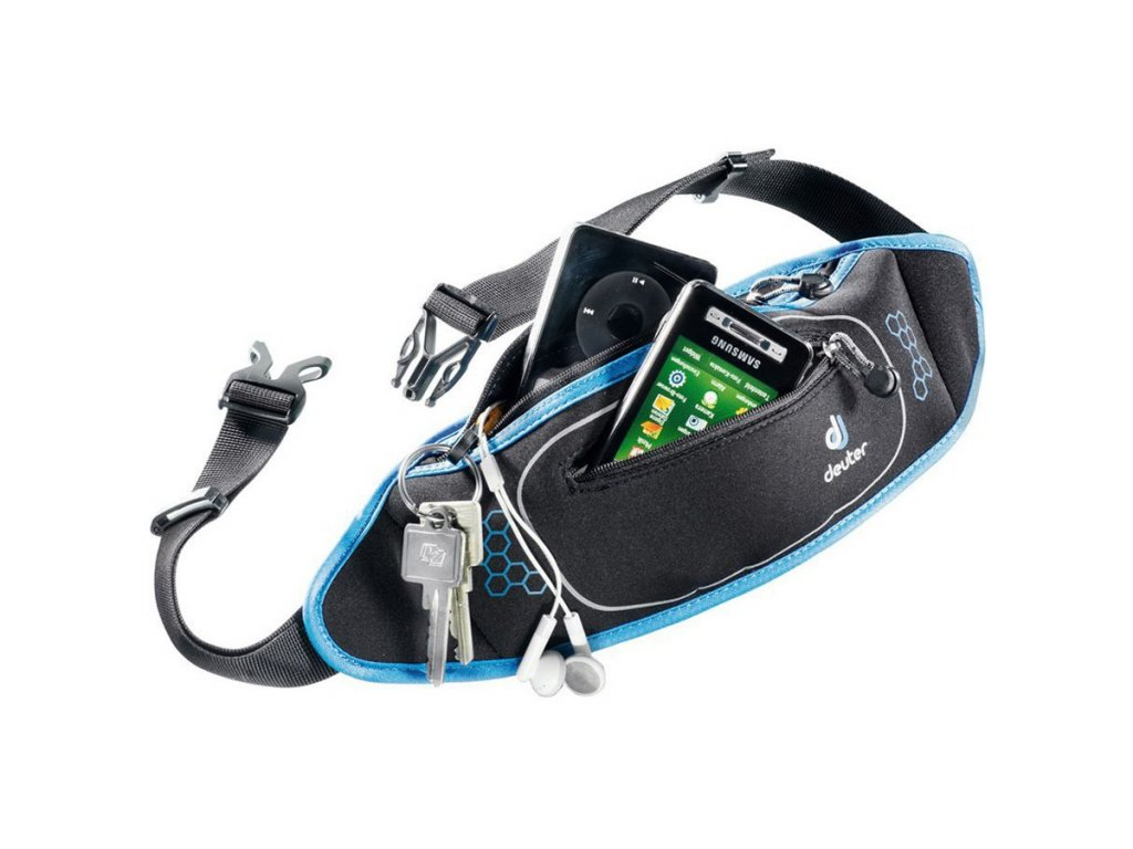 Deuter Neo Belt II black-coolblue - ledvinka