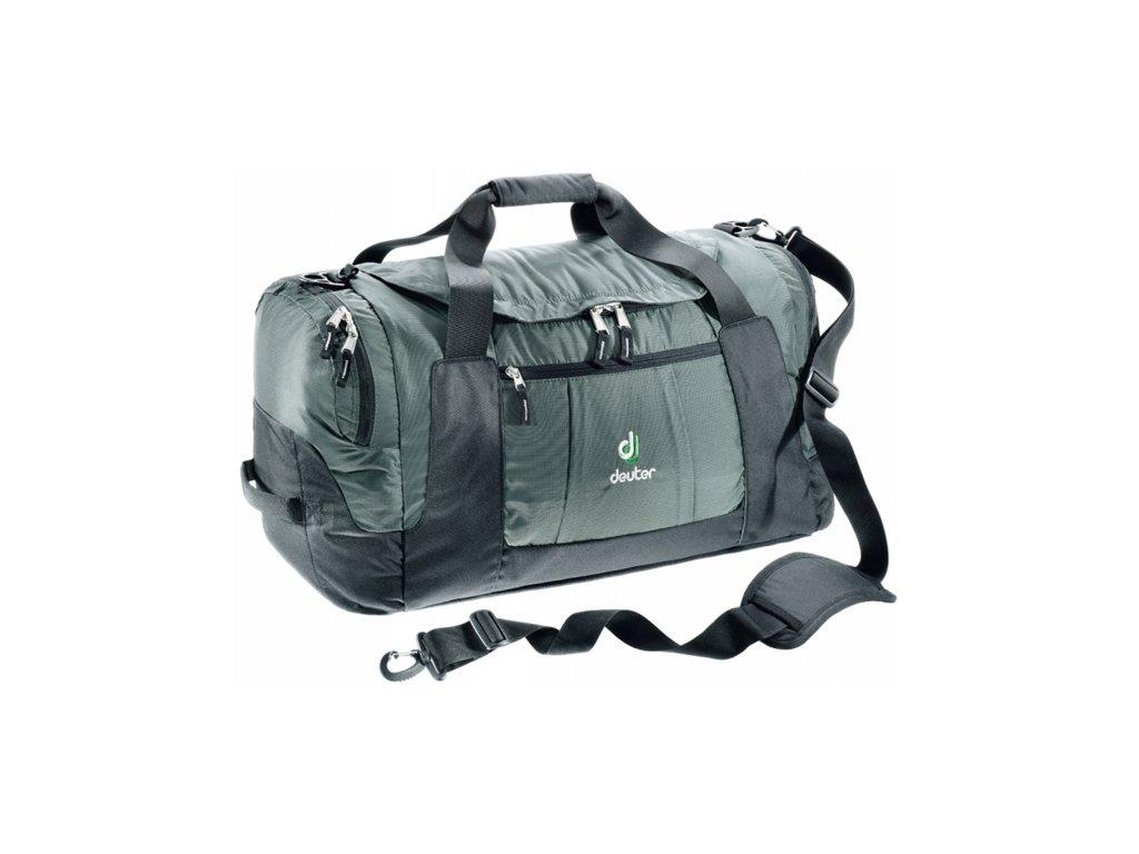 Deuter Relay 60 granite-black - cestovní taška  + PowerBanka nebo pouzdro zdarma