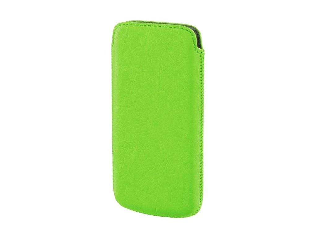 HAMA Pouzdro na mobil Neon light, velikost L, neónově zelené