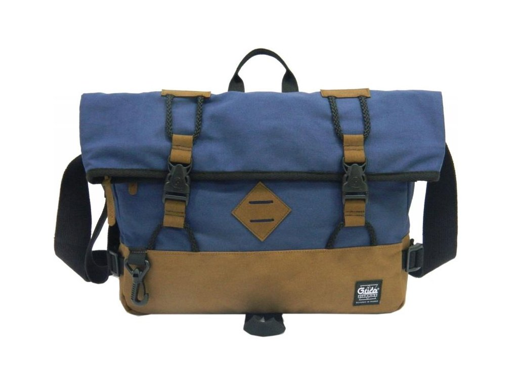 G.RIDE taška ANTOINE light brown/blue