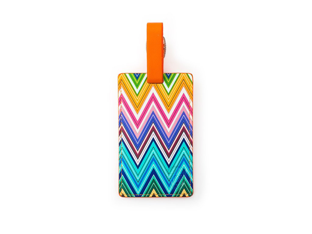 Heys_Luggage_Tag_Colour_Herringbone
