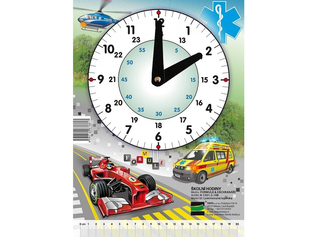 Školní hodiny Záchranáři - Formule