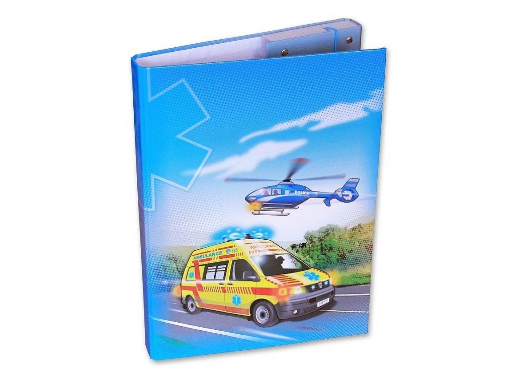 Školní box A4 Záchranáři