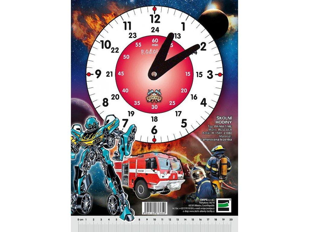 Školní hodiny Rescuer - Robocar