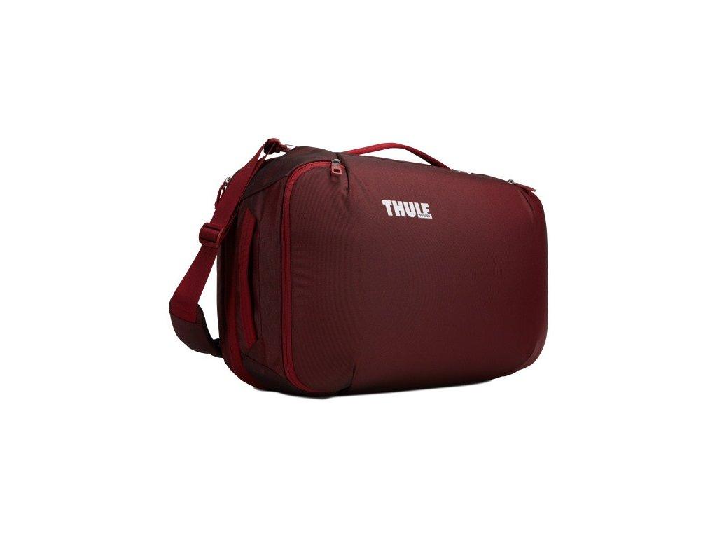 Thule Subterra cestovní taška/batoh 40 l TSD340EMB - vínově červená  + Pouzdro zdarma