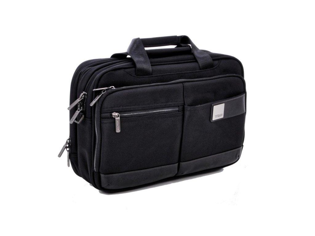 Titan Power Pack Laptop Bag S Black