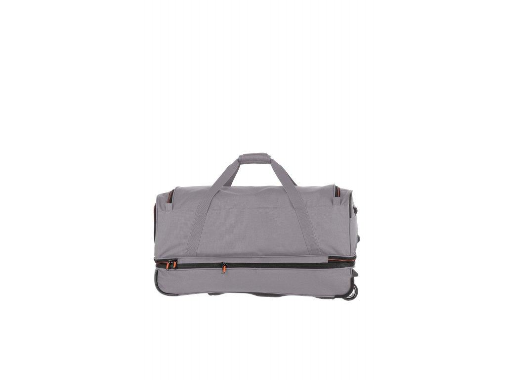 Travelite Basics Wheeled duffle L Grey/green