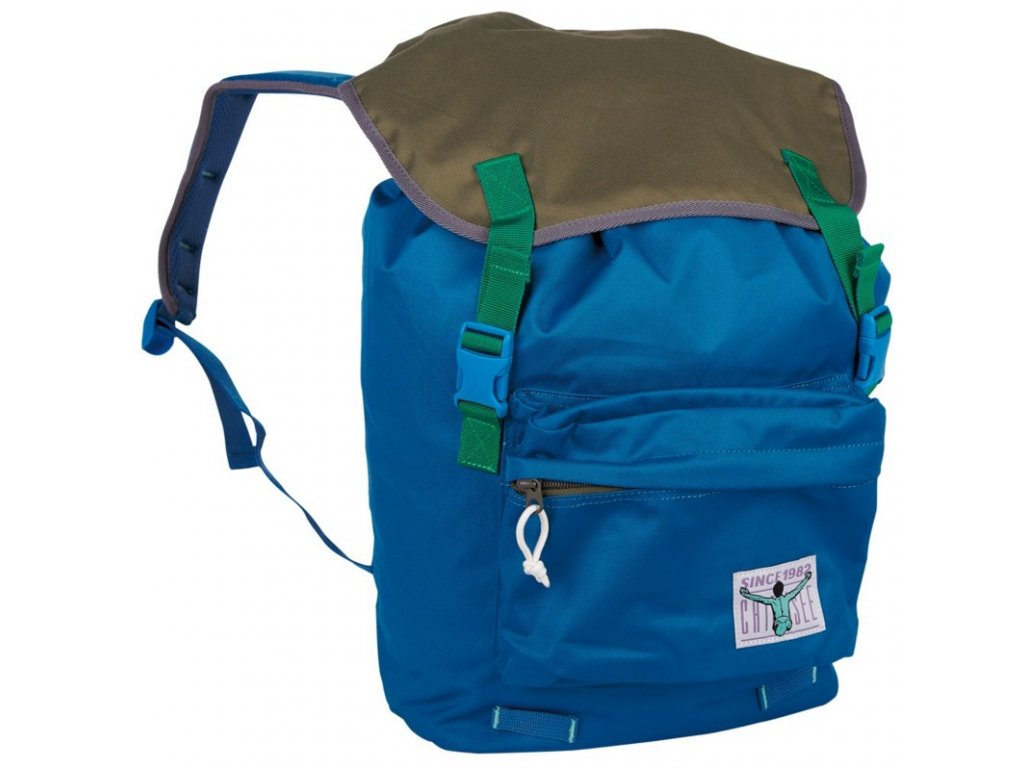 Chiemsee Riga backpack Blue saphire/Olive night  + pouzdro zdarma