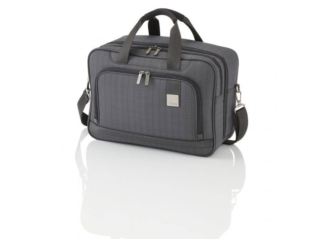Titan CEO Board bag Glencheck