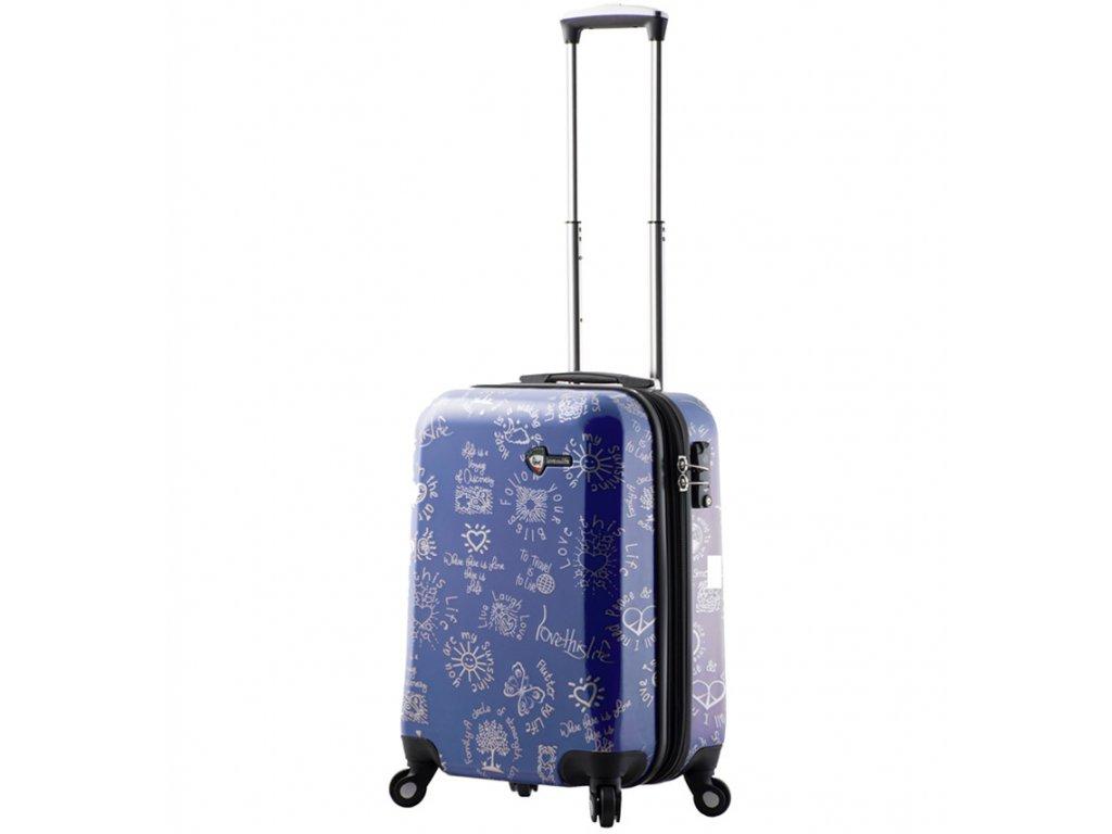Kabinové zavazadlo MIA TORO M1089/3-S - modrá  + PowerBanka nebo brašna zdarma