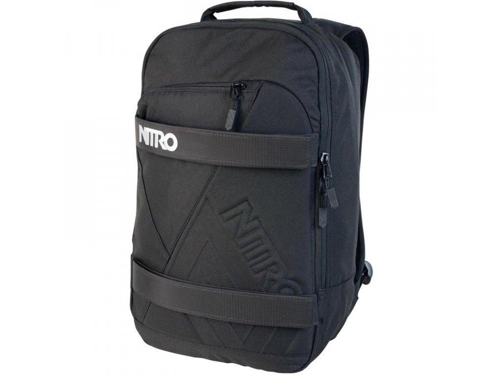 NITRO batoh AXIS black  + Pouzdro zdarma