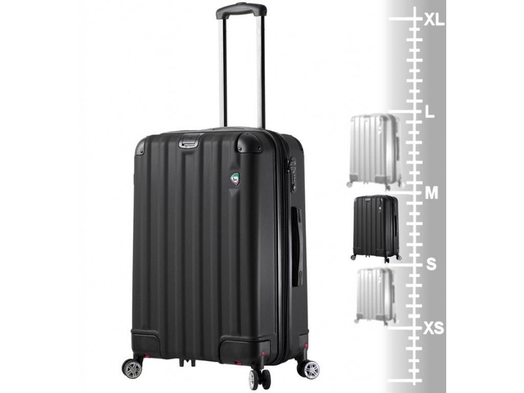 6b6dd285a2e Cestovní kufr MIA TORO M1300 3-M - černá + PowerBanka nebo pouzdro zdarma  ...