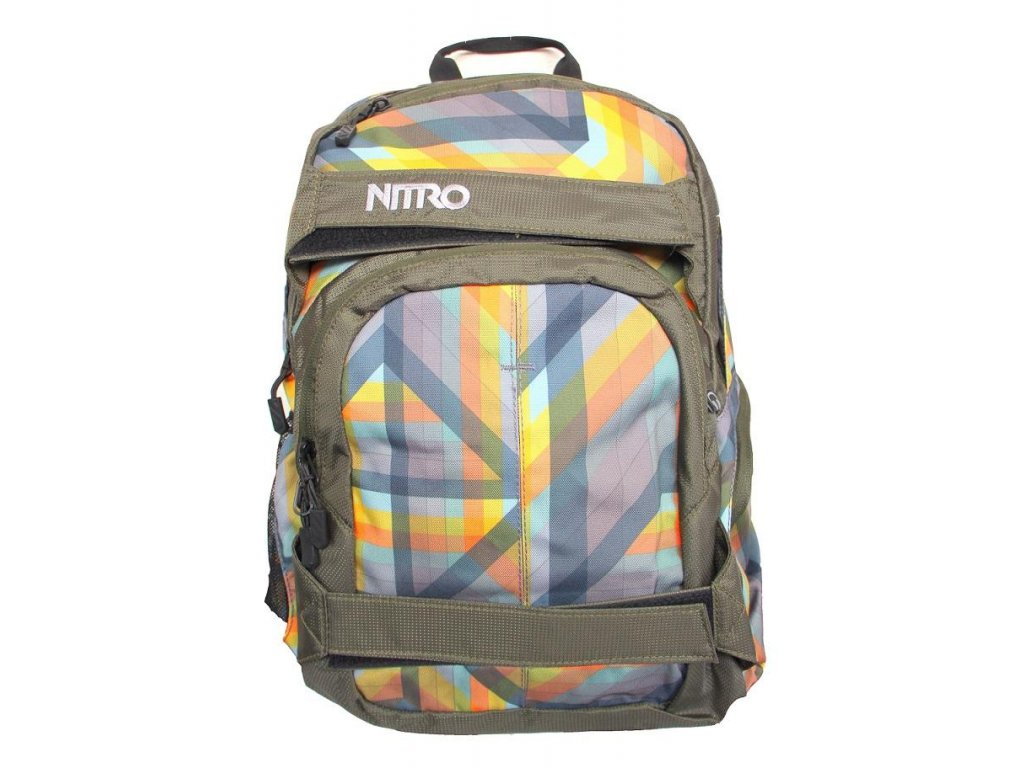 NITRO batoh DRIFTER geo orange