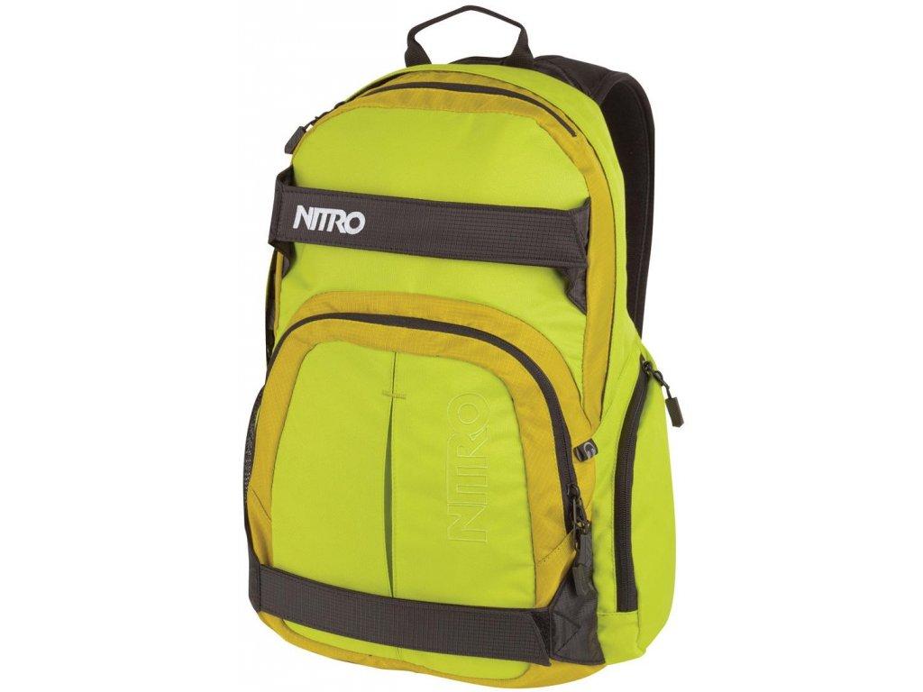 NITRO batoh DRIFTER lime