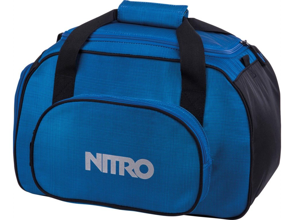 NITRO taška DUFFLE BAG XS blur brilliant blue
