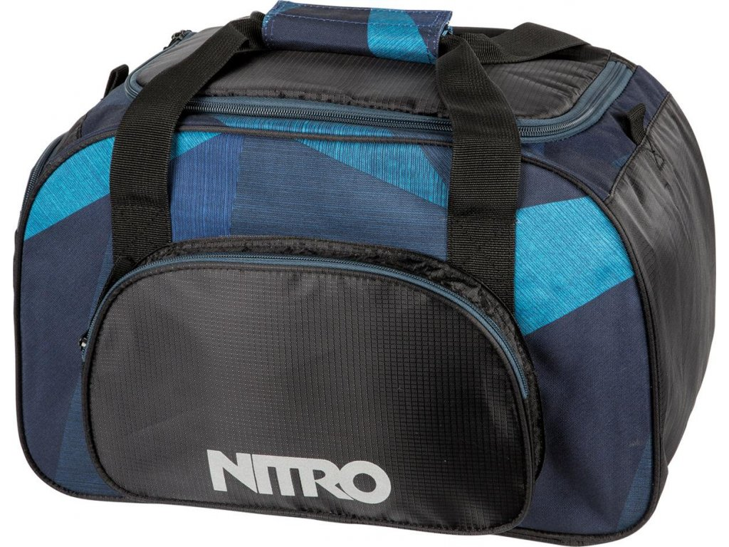 NITRO taška DUFFLE BAG XS fragments blue