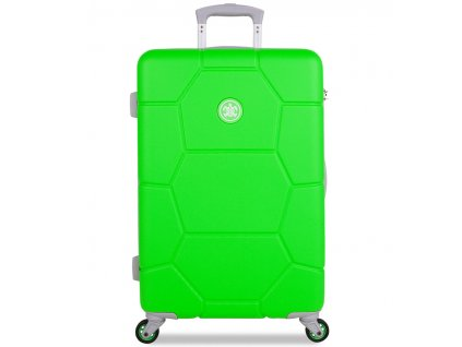 Cestovní kufr SUITSUIT® TR-1251/3-M ABS Caretta Active Green  + Pouzdro zdarma