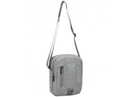 Taška přes rameno GEAR 9005 - šedá