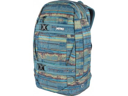 NITRO batoh AERIAL frequency blue  + Pouzdro zdarma