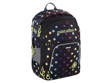 Školní batoh Coocazoo RayDay, Magic Polka Colorful  + PowerBanka nebo pouzdro zdarma