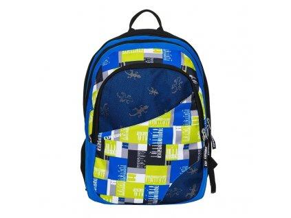 Studentský batoh 2v1 DANIEL Mix yellow  + Pouzdro zdarma