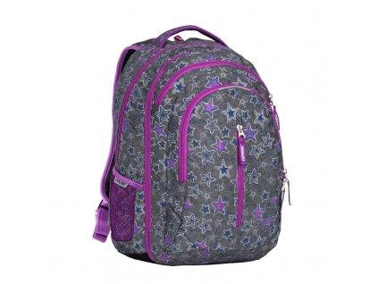 Studentský batoh 2v1 LIAN Stars  + Pouzdro zdarma