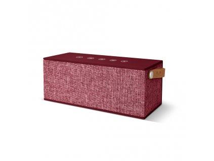 FRESH ´N REBEL Rockbox Brick XL Fabriq Edition Bluetooth reproduktor, Ruby, rubínově červený  + PowerBanka nebo brašna zdarma