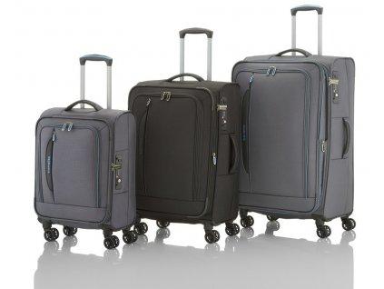 Travelite CrossLITE 4w S,M,L + BB Anthracite  + PowerBanka nebo pouzdro zdarma