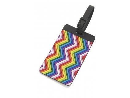 Travelite jmenovka na kufr Multicolor 1