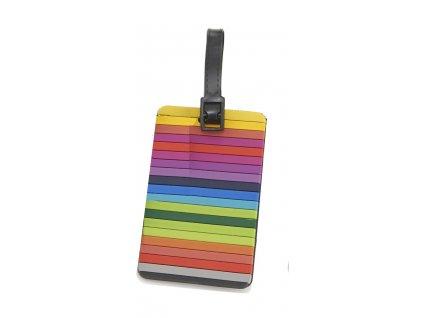 Travelite jmenovka na kufr Multicolor 2