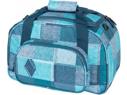 NITRO taška DUFFLE BAG XS zebra ice